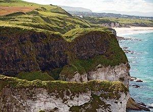 Die Küstenlandschaft im Norden