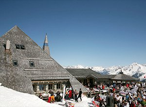 Franziskaner Weissbier Hüttenguide - Schneekarhütte