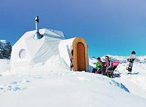 Franziskaner Winter-Auszeit - Iglu-Dorf Zermatt