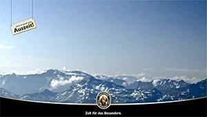 Abbildung Berglandschaft