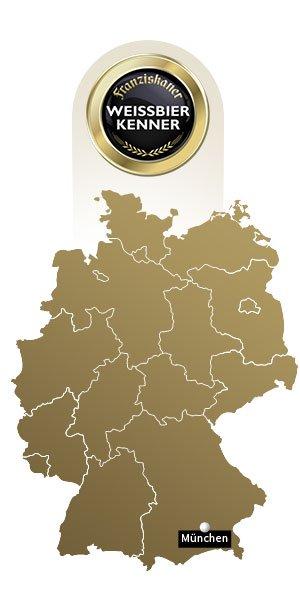 Landkarte mit Gaststätten