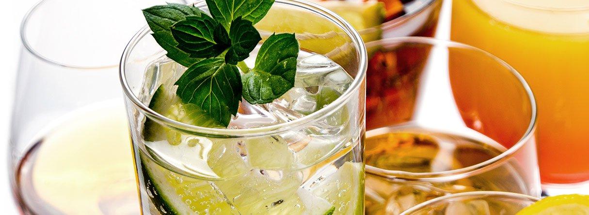 Franziskaner Weissbier-Cocktails